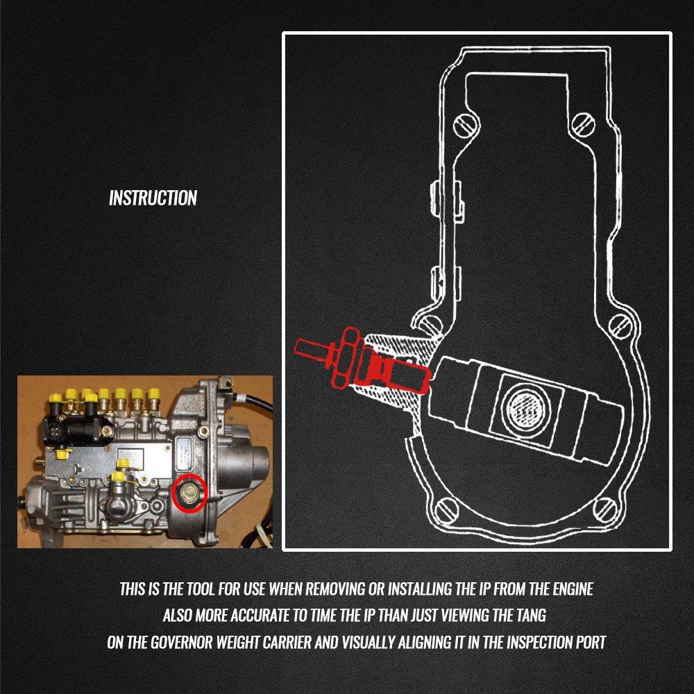 Pasador de bloqueo para bomba de inyección de EWK, 601589052100: Amazon.es: Bricolaje y herramientas