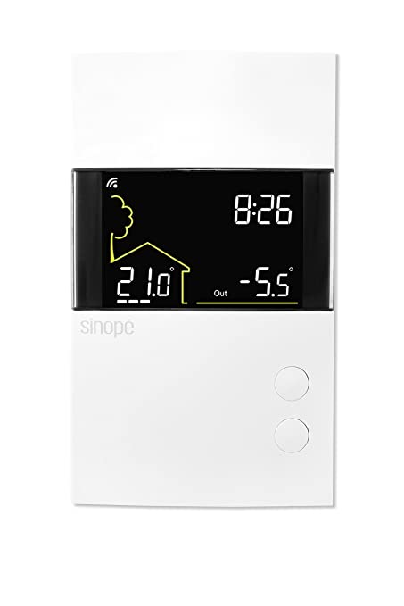 Sinopé TH1400RF Low voltage thermostat (heating only) – Wireless communication – 24V