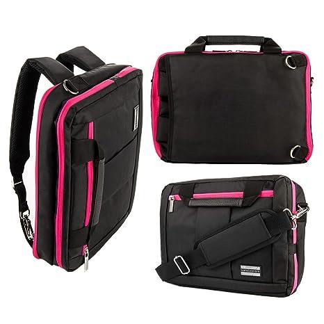 Crossbody Shoulder Messenger Bag Protective 2-in-1 Convertible Laptop  Backpack fits 11 quot  6081af8e602a9