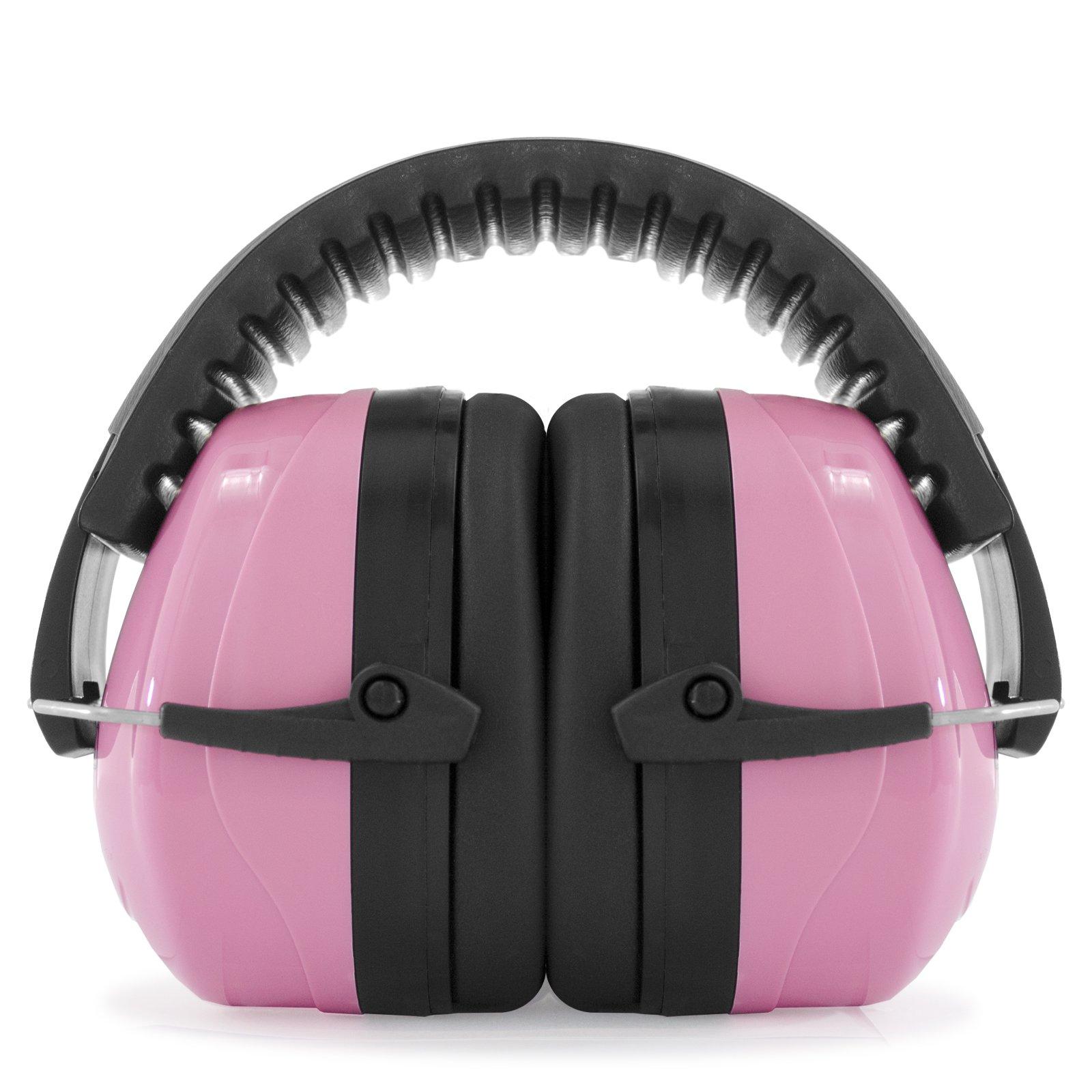 JORESTECH EAR MUFF LUXURY STYLE 27 dB NRR Premium Quality (Pink)