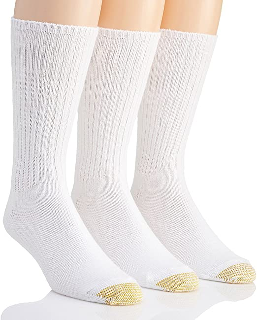 Gold Toe Men/'s Big and Tall Fluffies 3 Pack Ex X-Large Black