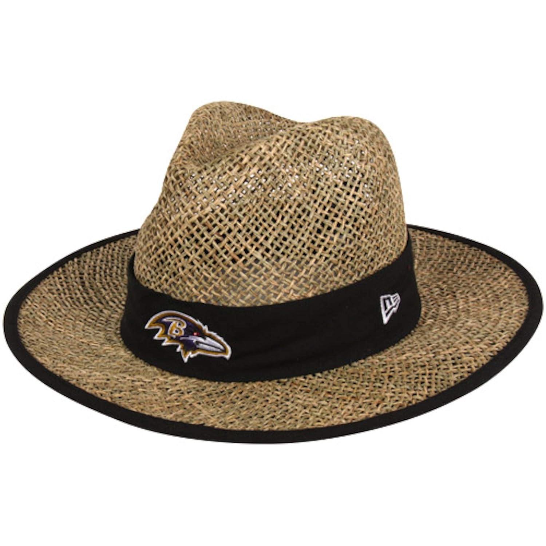 5b9e5d4fe New Era Men's NFL Natural On Field Training Camp Straw Hat