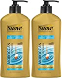 Suave Professionals Moroccan Infusion Body Lotion With Moroccan Argan Oil Net Wt. 18 FL OZ (532 mL) Each, Pack of 2