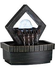 ok lighting ft-1154/1L fuente de 22.9cm de alto con 1luz