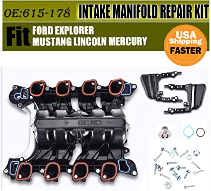 Intake Manifold Thermostat O-Rings w// Gasket for Ford Lincoln Mercury 4.6L