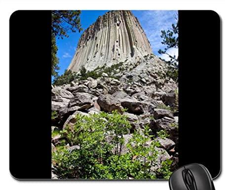 Devils Tower Wy >> Amazon Com Mouse Pads Devils Tower Wyoming National