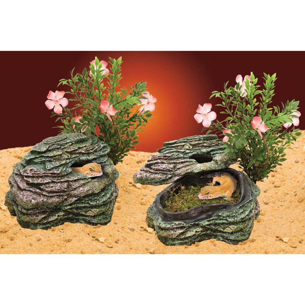 Penn-Plax Reptile Déco Rocher Refuge Moyen Modèle Penn Plax REP621
