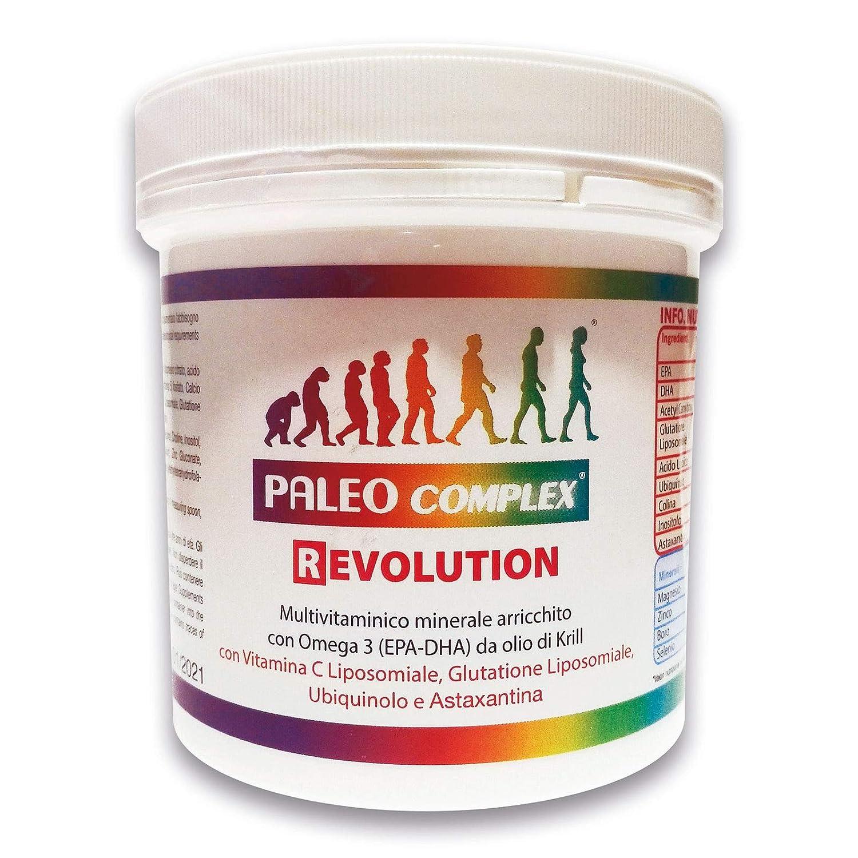 PALEOCOMPLEX REVOLUCION - Versión mejorada de Paleocomplex que agrega 3 ingredientes importantes, como glutatión, ubiquinol y astaxantina, para un poder ...