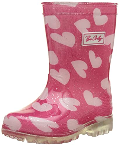 BE ONLY Mädchen Nolwenn Kid Flash Gummistiefel, Pink (Rose Rose), 23 EU