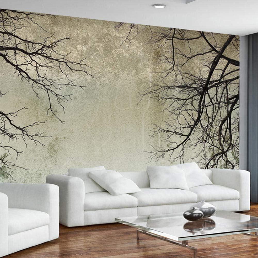 Contexte contemporain bricolage papier peint moderne 3d chambre salon photos murales non tiss/é d/écoration murale//branches darbres Papier Peint 3D Salle de s/éjour Chambre /à coucher-150cm/×105cm