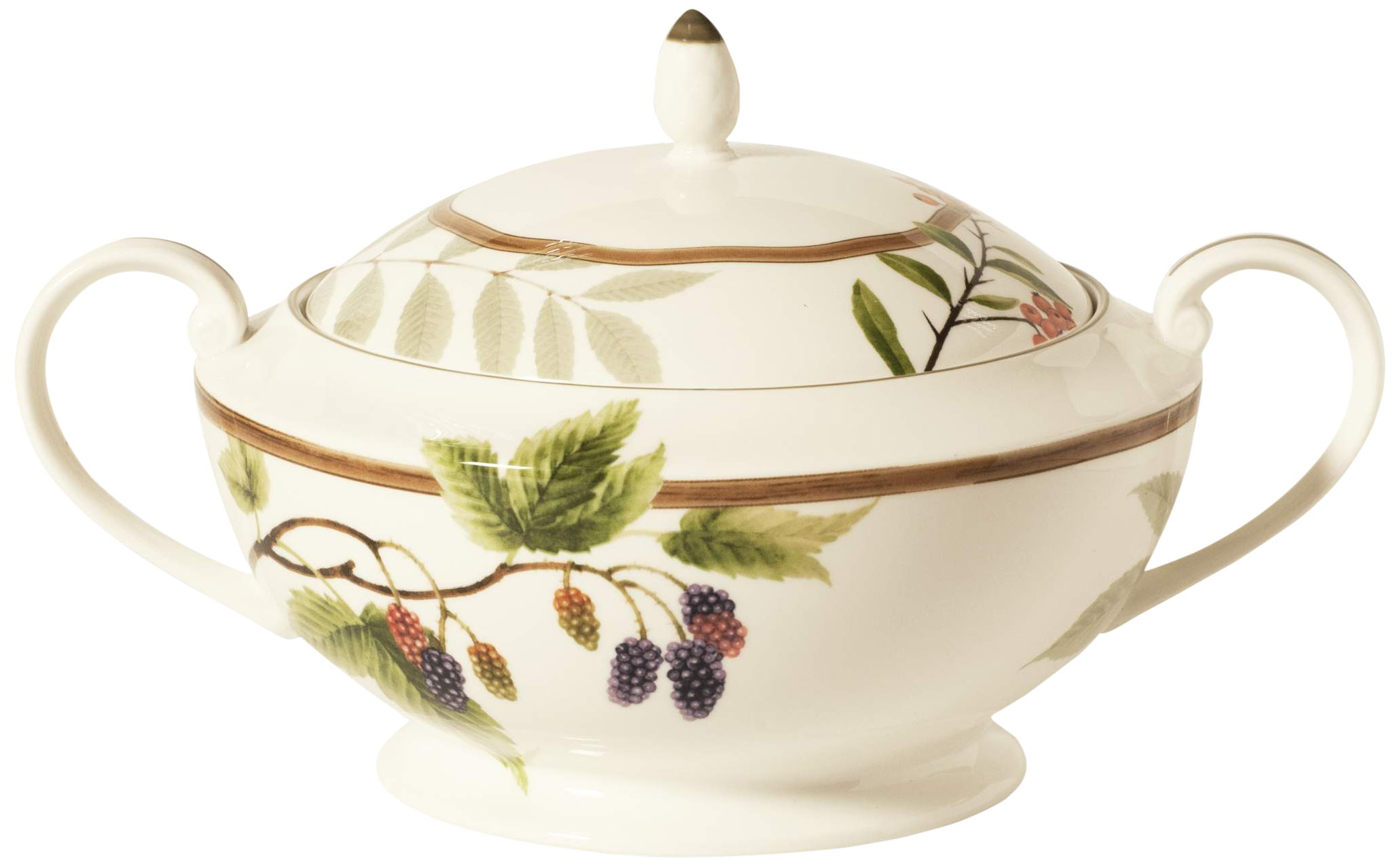 Noritake Berries and Brambles Casserole Server, 88-Ounce