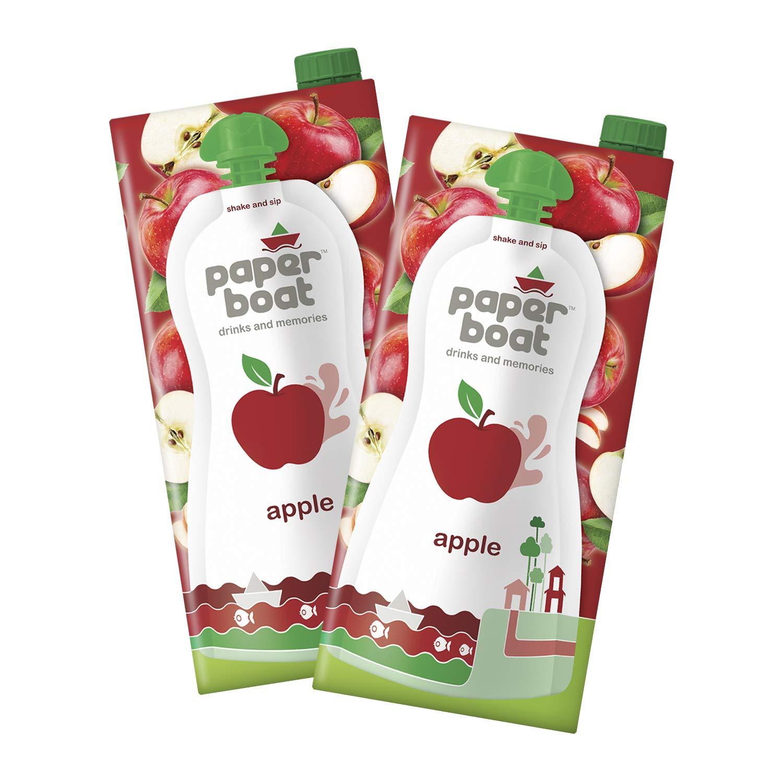 Paper Boat Apple Fruit Juice,(Pack of 2, 1L)