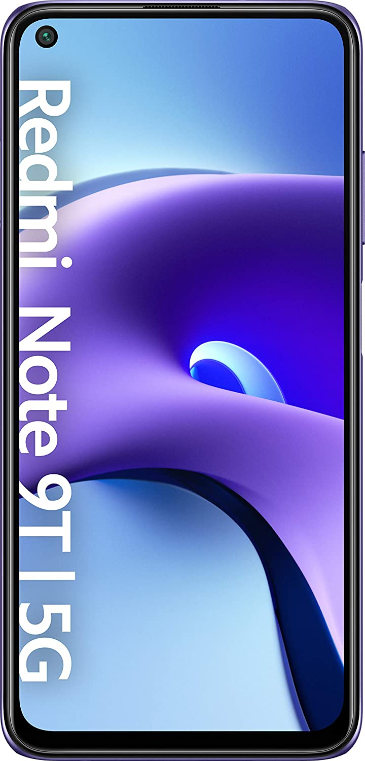 Xiaomi Redmi Note 9T | 128GB 4GB RAM | Android 10 MIUI 12 | 5000 mAh 18W Fast Charging | Octa-core | GSM LTE Factory Unlocked Smartphone | International Model