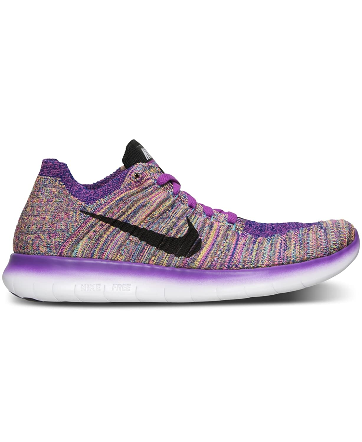 04ca1a6552f2a ... closeout amazon nike womens free running motion flyknit shoes hyper  violet gamma blue concord black 5