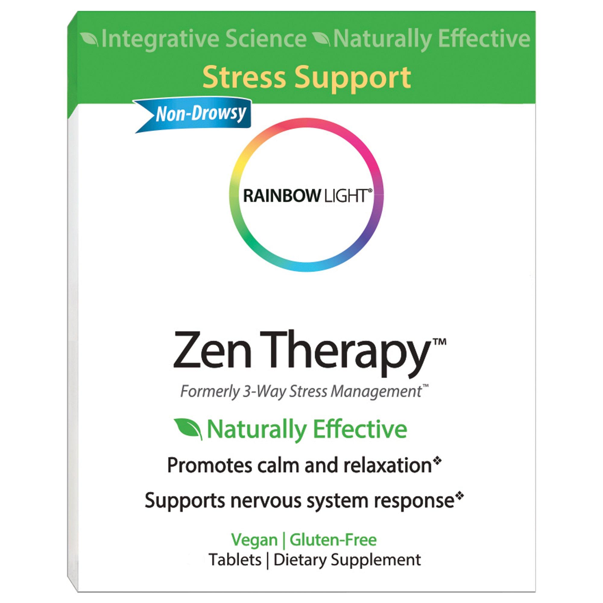 Rainbow Light - Zen Therapy, 30 Count, Stress Management, B-Complex Supplement