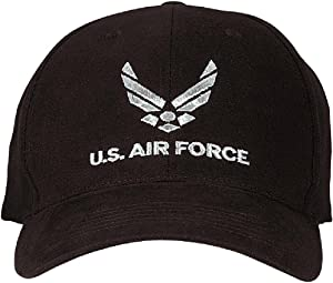Rothco USAF Low Profile Cap, Black