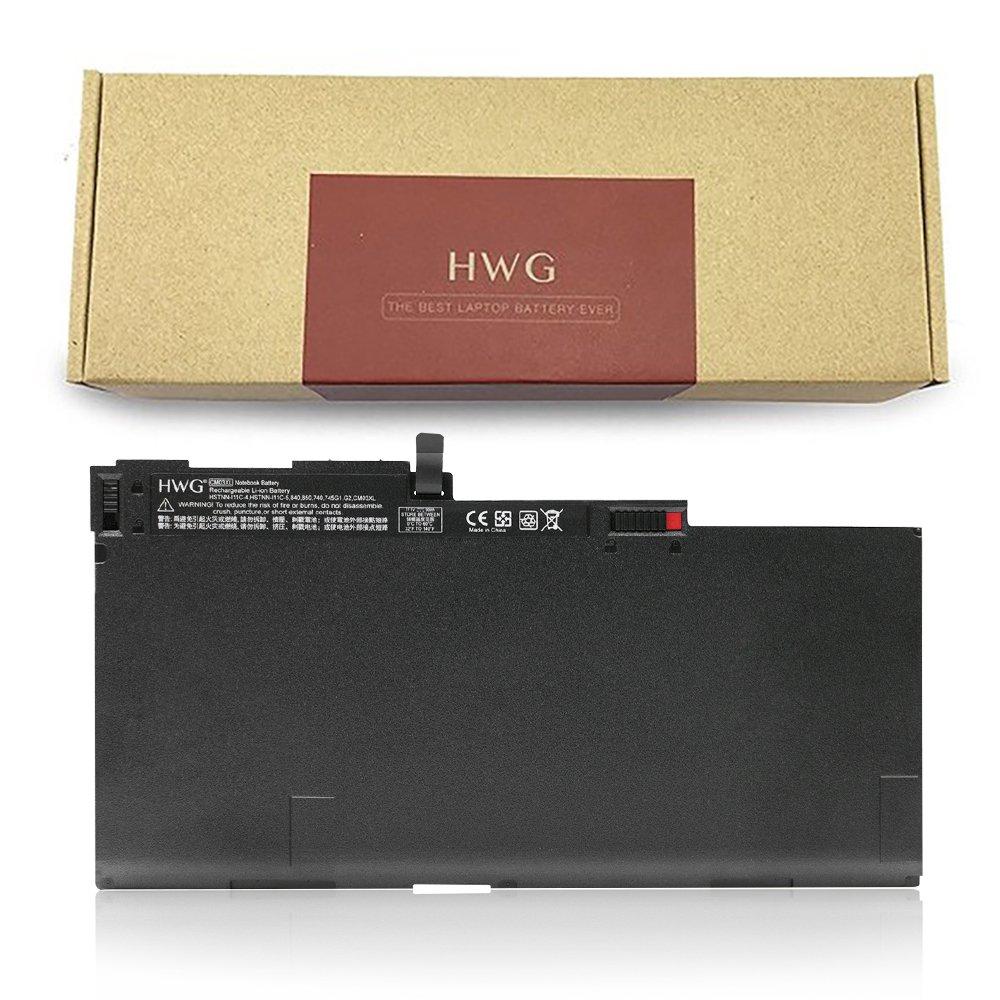 HWG CM03XL battery for HP EliteBook 840 845 850 740 745 750 G1 G2 Series 717376-001 CM03050XL CO06 CO06XL E7U24AA HSTNN-IB4R HSTNN-DB4Q HSTNN-LB4R HP ZBook 14 [11.1V/50WH]