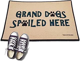 product image for Grand Dogs Spoiled here - HIGH COTTON Welcome Doormat