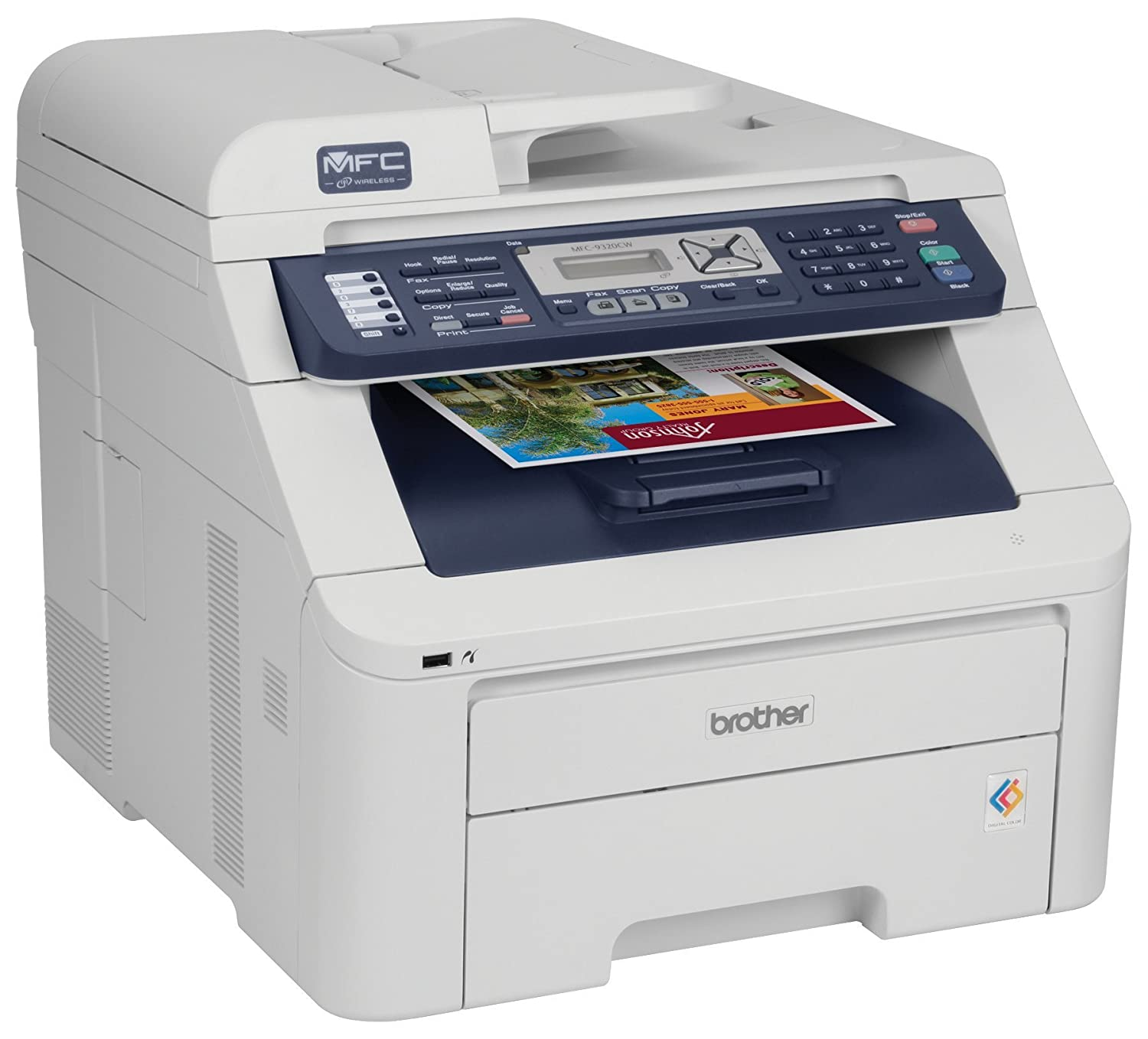 Brother MFC-210C CUPS Printer Drivers for Mac