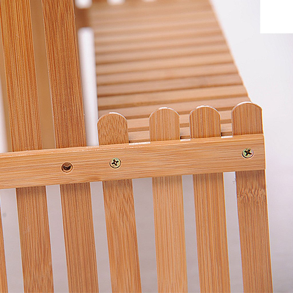 Solid Wood Flower Stand Suitable For Living Room Balcony Computer Desk | 3 Size (Size : 262130cm) by TY BEI (Image #5)
