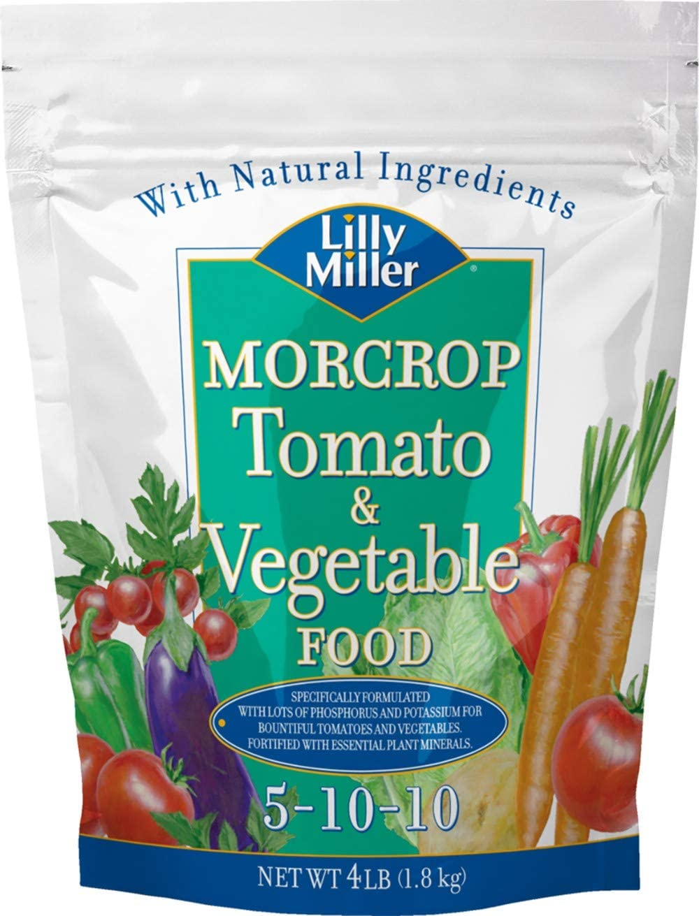 Lilly Miller Morcrop Tomato & Vegetable Food 5-10-10 4lb