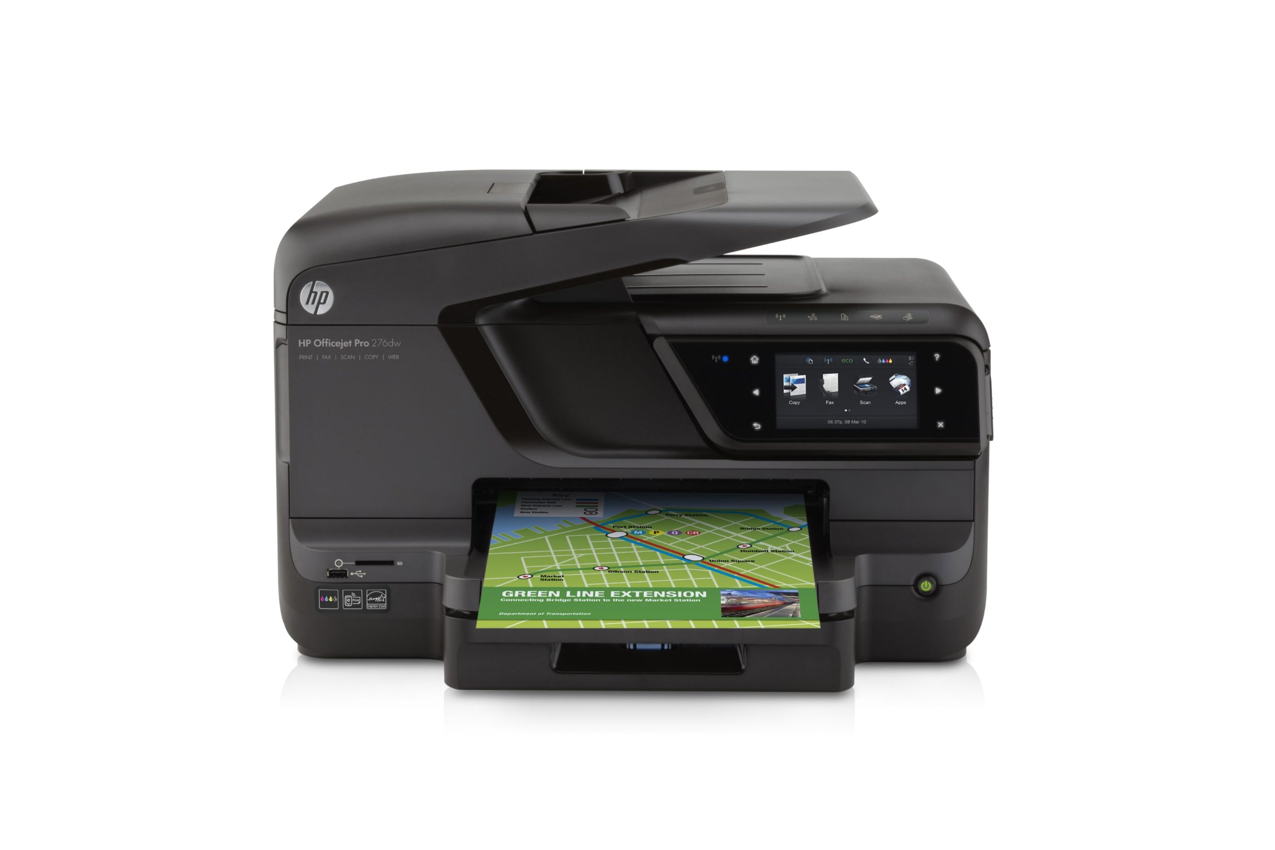 HP OfficeJet Pro 276dw Wireless All-in-One Photo Printer with Mobile Printing (CR770A) by HP