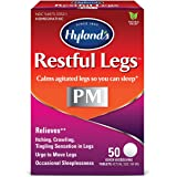Hyland's Restful Legs Nighttime PM Tablets, 50 Count