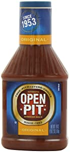 Open Pit Barbecue Sauce, Original, 18 Ounce (Pack of 6)
