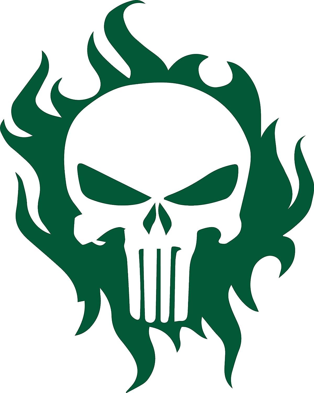 Angdest Punisher Skull Green Set Of Premium Jpg 1199x1500 Stencil