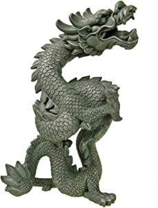 Blue Ribbon EE-719 Oriental Dragon Exotic Environments Aquarium Ornament