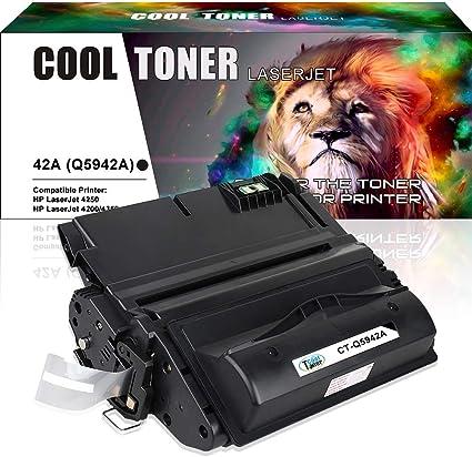 3 Pack Q5942A 42A Black Toner Cartridge For HP LaserJet 4200 4240 4250 4300 4350