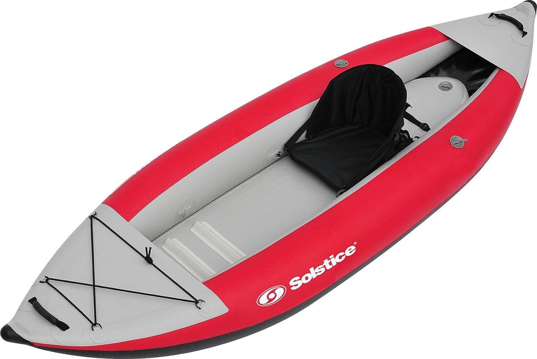 CDM product Solstice Flare 1 Person Kayak, Red big image