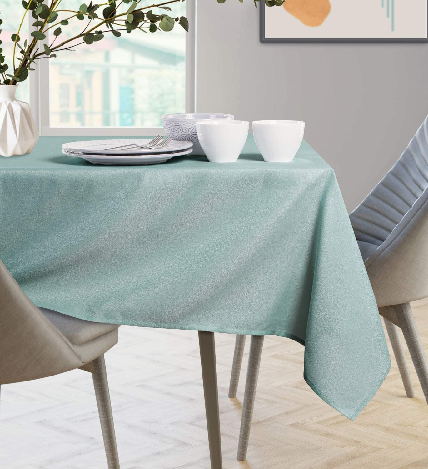 AmeliaHome Nappe hydrofuge 110x110 cm Empire Cappuccino Polyester