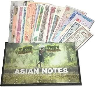 IMPACTO COLECCIONABLES Billetes del Mundo - Colección de Billetes - 16 Billetes Diferentes de Asia: Amazon.es: Juguetes y juegos