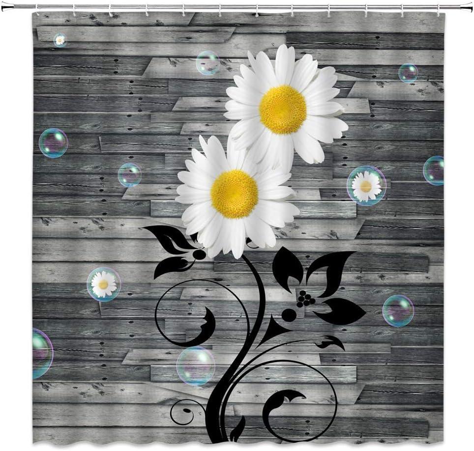 "Fashion Design Prints Shower Curtains for Bathroom 71/""W x 74 L MYSKY HOME"