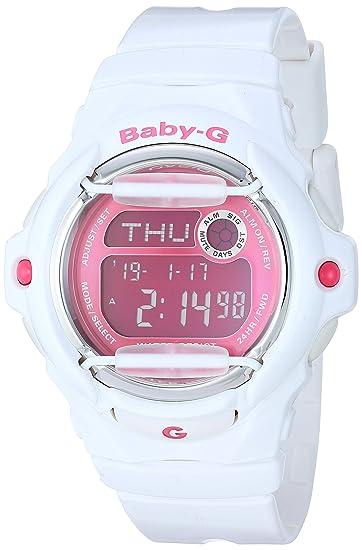073581df21d50 Casio G Shock Women s BG169R-7D Baby-G Digital Display Quartz White Watch   Casio  Amazon.ca  Watches