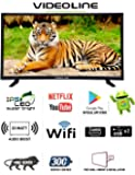 Videoline 80 cm (32 inches) 32CMR Smart WiFi Android IPS Hd Led Tv
