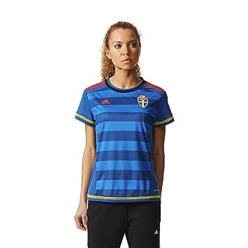 Adidas Camiseta Suecia visitante Réplica: Amazon.es: Deportes y aire libre