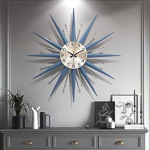 XUEXIONGSP 21 Century Metal Wall Clock