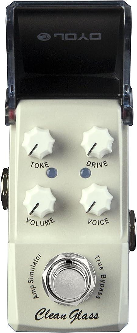 JOYO JF-307 Clean Glass Amp Sim mini-efectos para guitarra ...