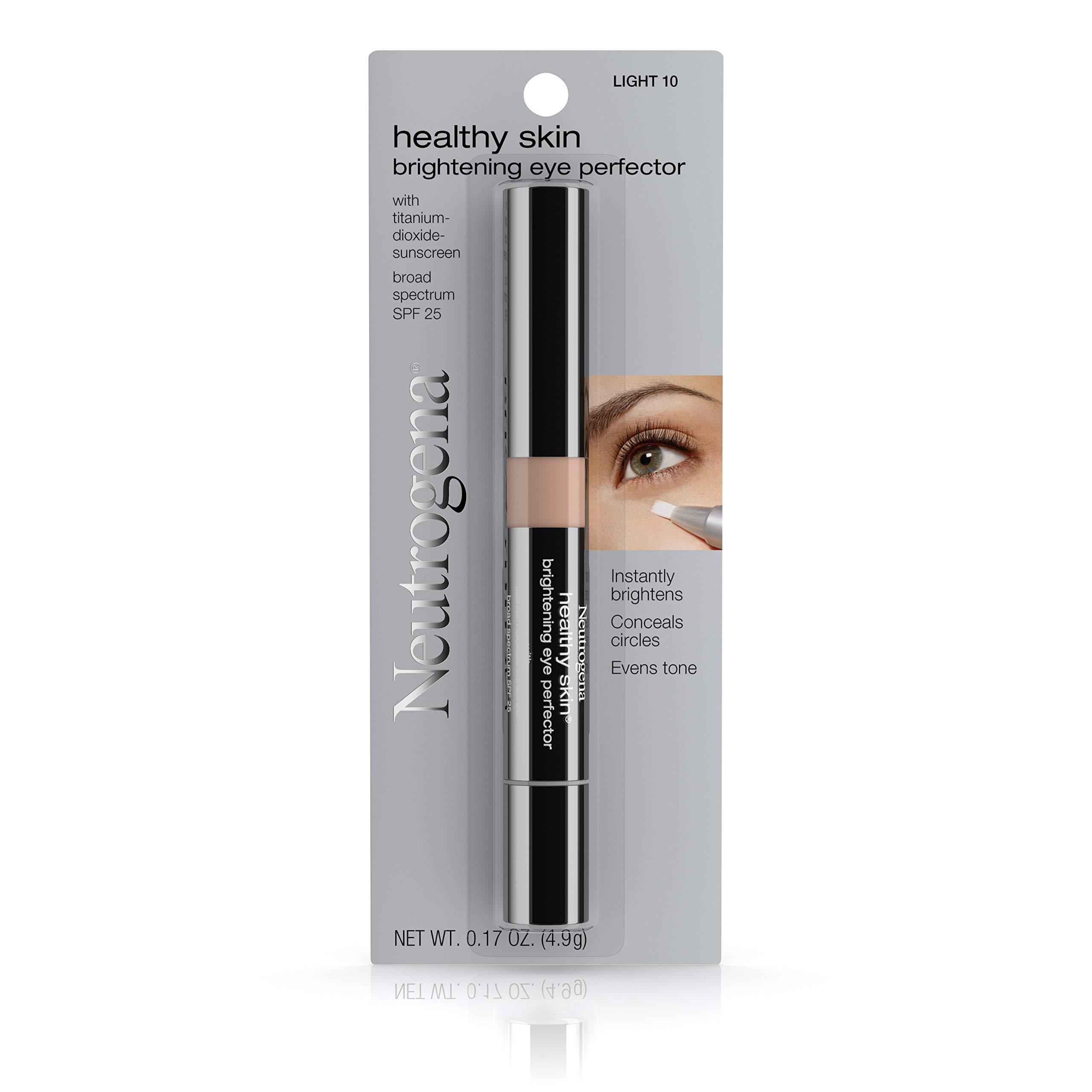Neutrogena Healthy Skin  Brightening Eye Perfector Broad Spectrum Spf 25, Under Eye Concealer,  Light 10, .17 Oz. by Neutrogena