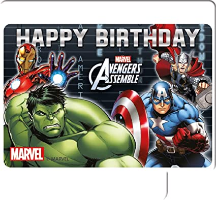 Amazon.com: Marvel Unique Party 72085 Avengers Assemble ...