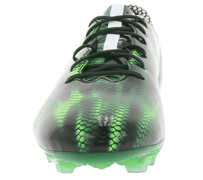 adidas Performance F30 FG para hombre Botas de fútbol Negro B35994, Size:41 1/3