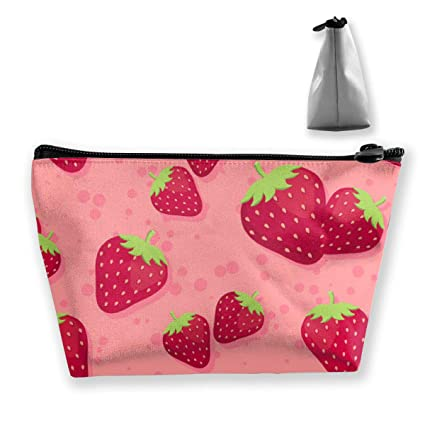 Red Sweet Strawberry Art Tixing Bolsa de maquillaje Bolsas ...