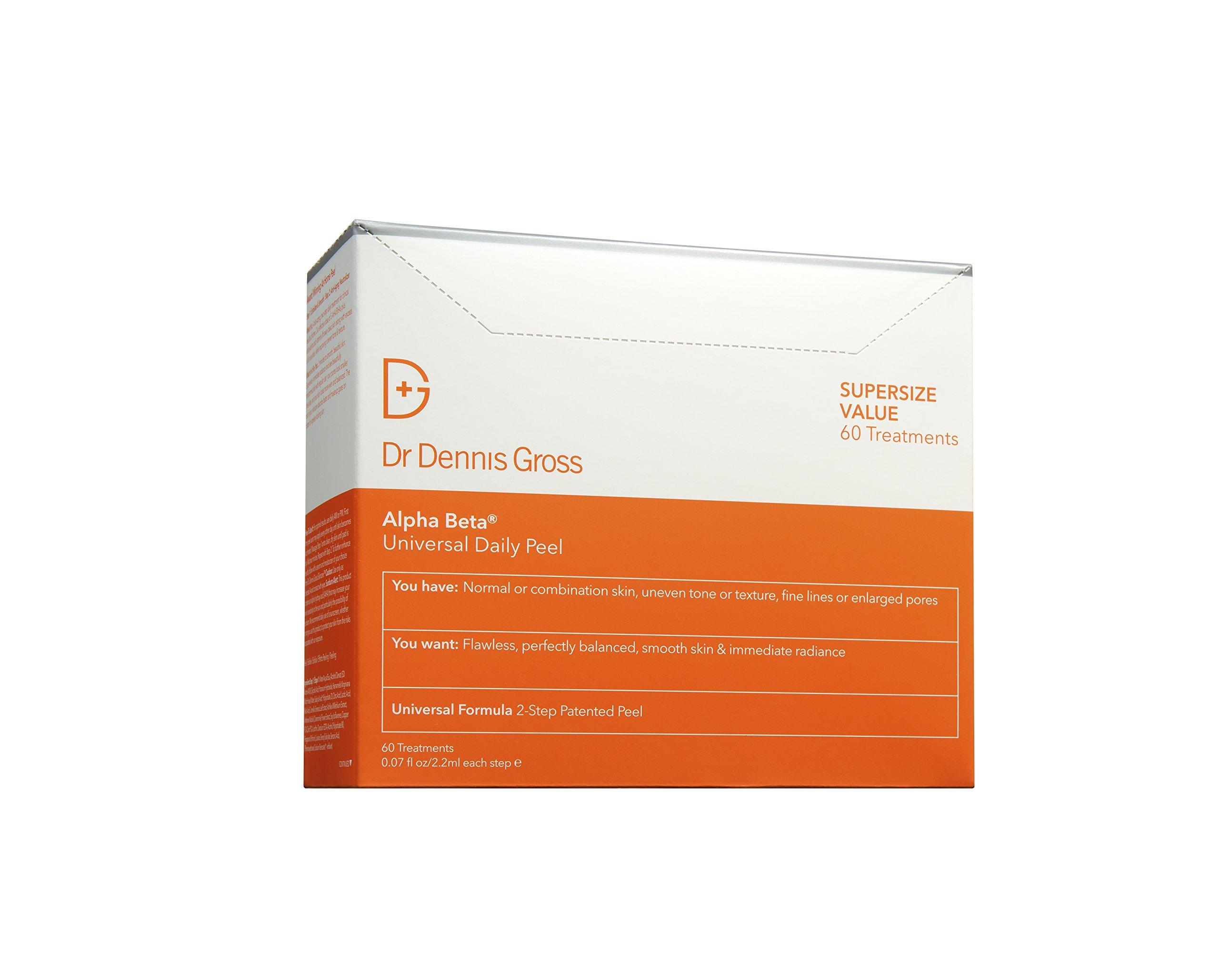 Dr. Dennis Gross Skincare Alpha Beta Universal Daily Peel | 60 Count