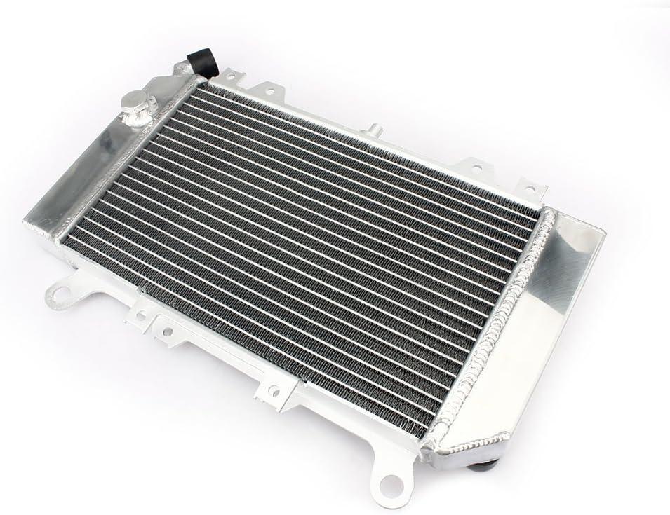 TARAZON Motorcycle Engine Water Cooling Cooler Aluminum Core Radiator for Kawasaki Ninja ZX6R ZX600 2007 2008 ZX-6R