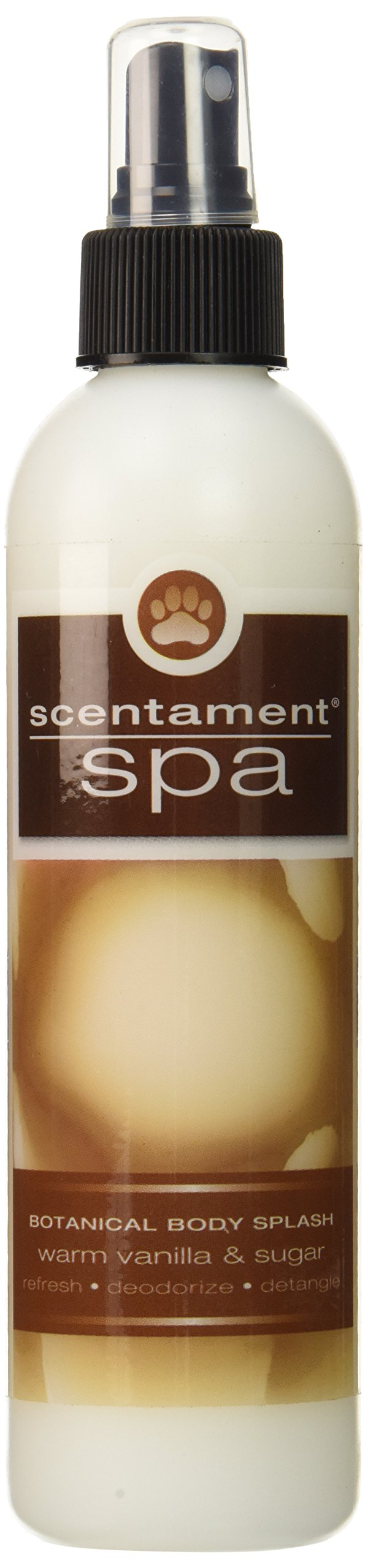 Best Shot Pet Scentament Spa Warm Vanilla Sugar Body Splash Spray, 8 oz