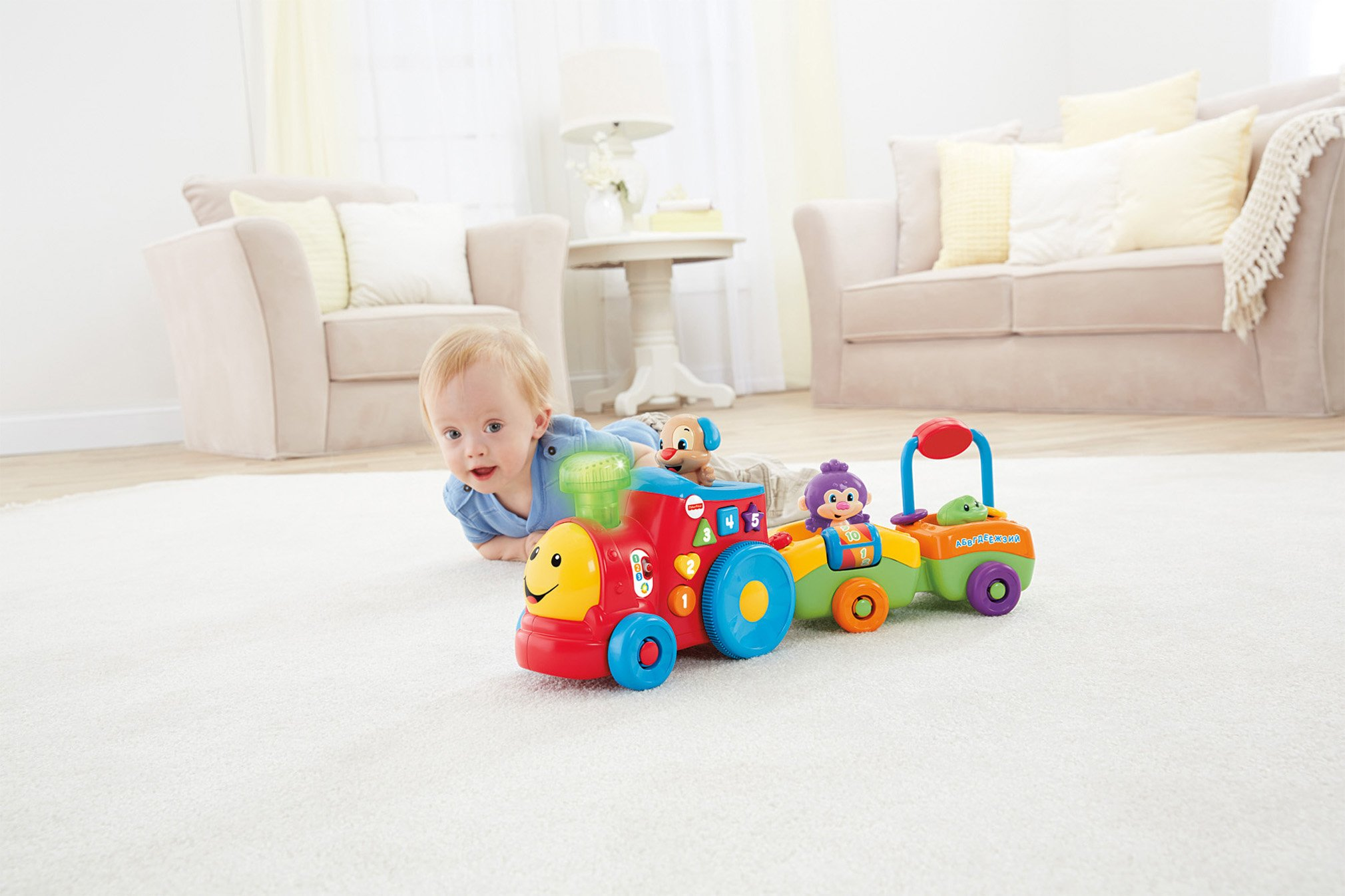 Fisher-Price Laugh & Learn Smart Stages Puppy's Smart Train by Fisher-Price (Image #9)