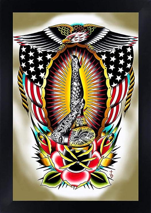 American patas de Tyler Bredeweg Rockabilly tatuaje tradicional ...