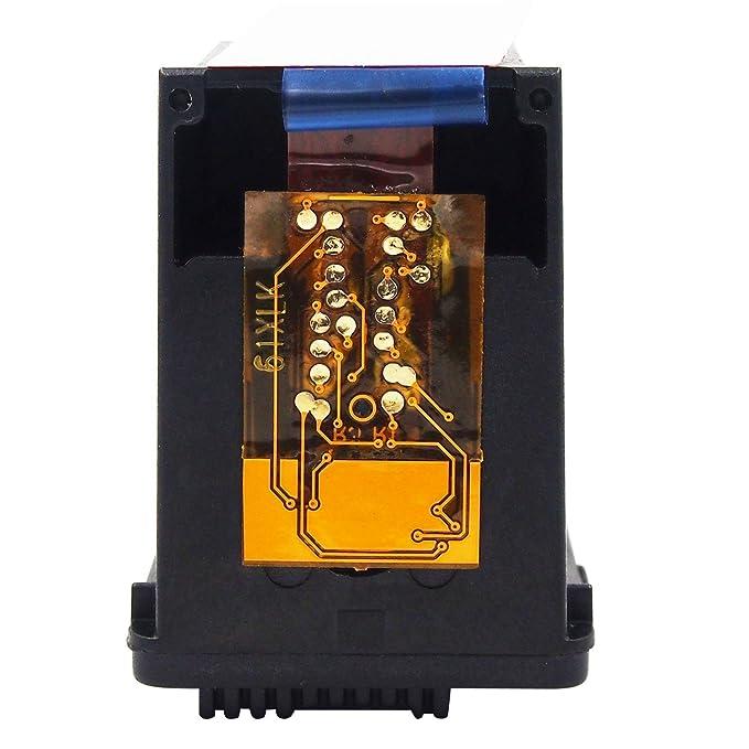 HaloFox 1 Cartuchos de Tinta Remanufacturados 301XL Negro 301 XL Reemplazar para HP DeskJet 1050 1510 2050 2540 2543 2544 3050 OfficeJet 2620 ...